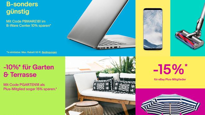 ebay satte rabatte f r technik und garten computer bild. Black Bedroom Furniture Sets. Home Design Ideas