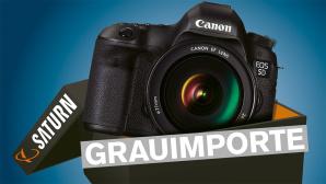 Kamera in der Schachtel ©Canon, Saturn