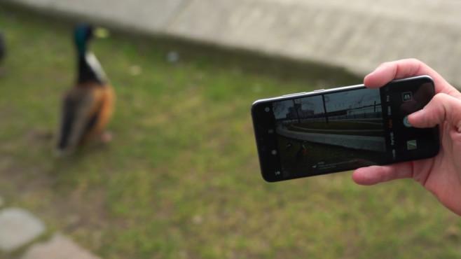 """Huawei P20 (Pro): Die besten Tipps und Tricks Durch die """"smarte Auflösung"""" passt das System die Schärfe des P20 und P20 Pro automatisch an, spart dadurch kostbaren Akkusaft. ©COMPUTER BILD"""