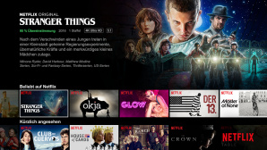 Netflix Startseite ©Netflix