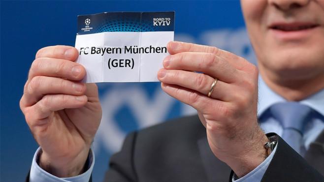 Champions League: Halbfinal-Auslosung ©FABRICE COFFRINI / Kontributor