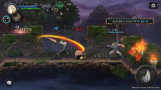 Castlevania – Grimoire of Souls: Neues Mobilspiel angekündigt ©Konami