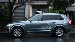 Volvo mit Uber-Logo ©Uber