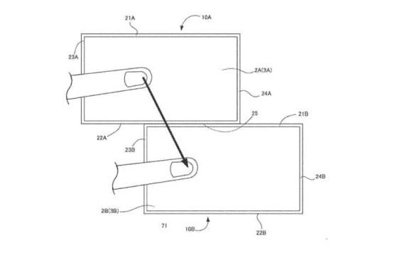"""Nintendo: Neues Patent aufgetaucht – Multi-Screen der Zukunft? Nintendo beschreibt das neue Patent als """"eine Vielzahl von informationsverarbeitenden Geräten, die miteinander kommunizieren können."""" ©Nintendo/United States Patent and Trademark Office"""
