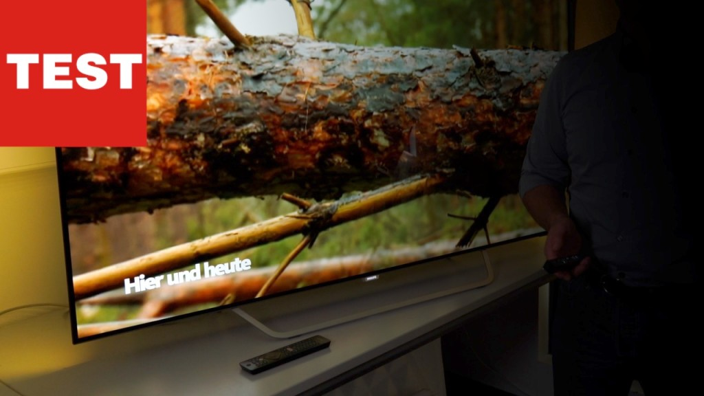 Philips 65OLED873: OLED-Fernseher mit HDR