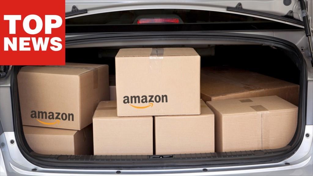 Amazon: Paket ab sofort ins Auto liefern lassen!