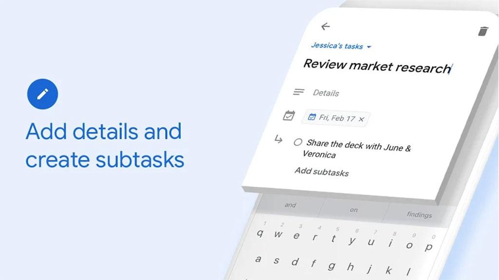 Google Tasks: Anwendung für aktive Aufgabenplanung