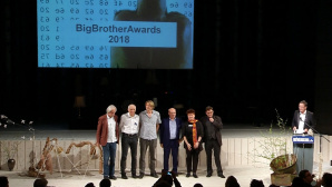 Big Brother Award 2018 © Vimeo/Digitalcourage e.V.