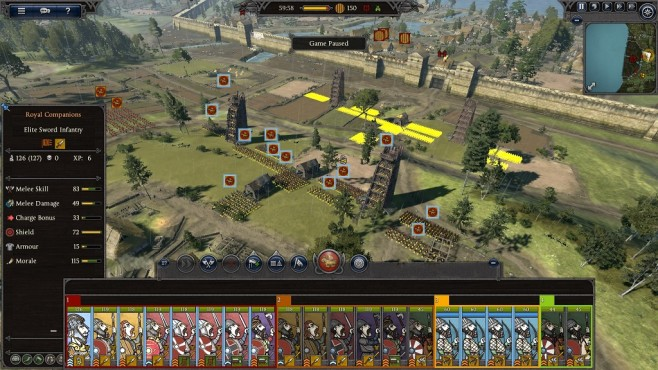Total War Saga – Thrones of Britannia: In Formation bewegen © Sega/Creative Assembly