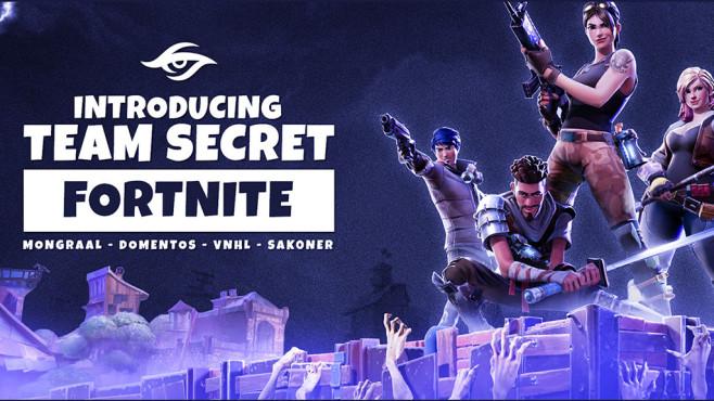 Team Secret Fortnite ©Team Secret