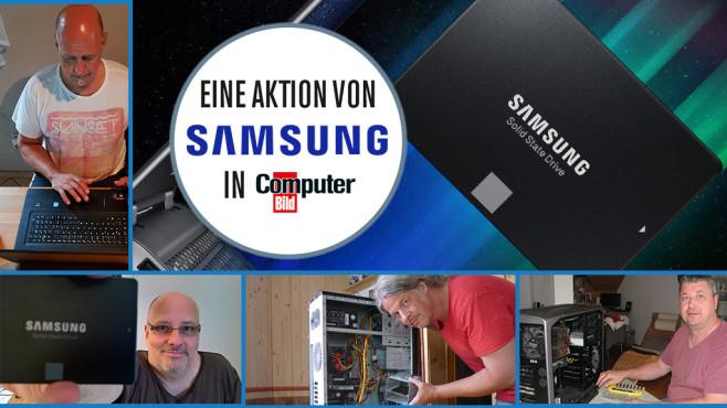 Leseraufruf Samsung SSD 860©Samsung, eugenesergeev - Fotolia.com