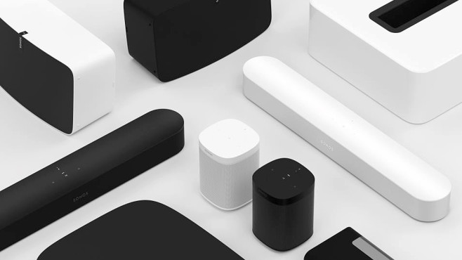 neue soundbar sonos beam mit siri und alexa audio video foto bild. Black Bedroom Furniture Sets. Home Design Ideas