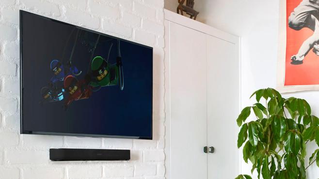 Sonos Beam im Test – Wandmontage ©Sonos