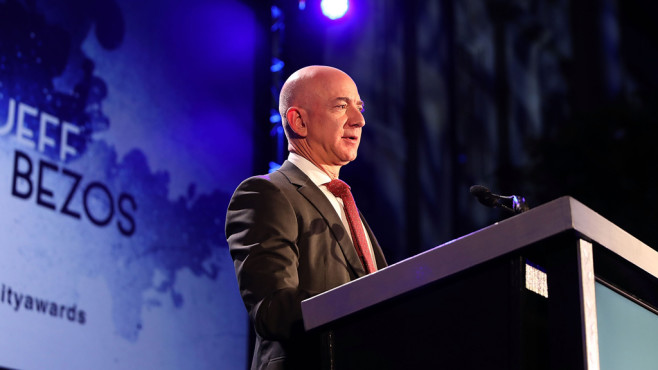 Amazon-Gründer Jeff Bezos © Leah Puttkammer/gettyimages