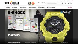 Rabatt auf Uhren und Schmuck ©Screenshot www.uhrcenter.de