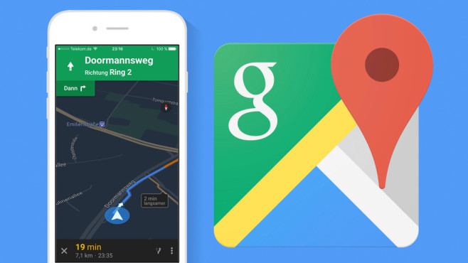 Google Maps ©Google, COMPUTER BILD