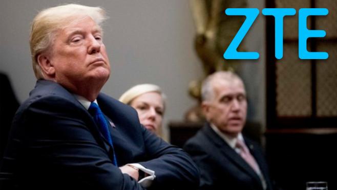 Donald Trump ©dpa Bildfunk, ZTE