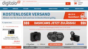 Aktion Newsletter-Anmeldung ©Screenshot www.digitalo.de