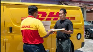 Postlieferung © Deutsche Post DHL Group