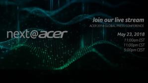 Acers Produktneuheiten 2018 im Livestream ©Acer, COMPUTER BILD