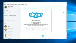 Skype als klassische Desktop-Anwendung ©Microsoft