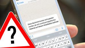 WhatsApp: Fake-Fehlermeldung wegen Pornos ©magele-picture - Fotolia.com, WhatsApp