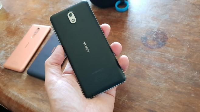 Nokia 3.1: Rückseite©COMPUTER BILD