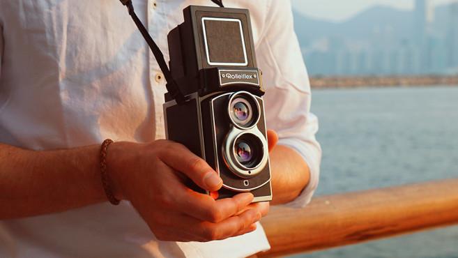 Rollei Rolleiflex Sofortbildkamera ©Rollei