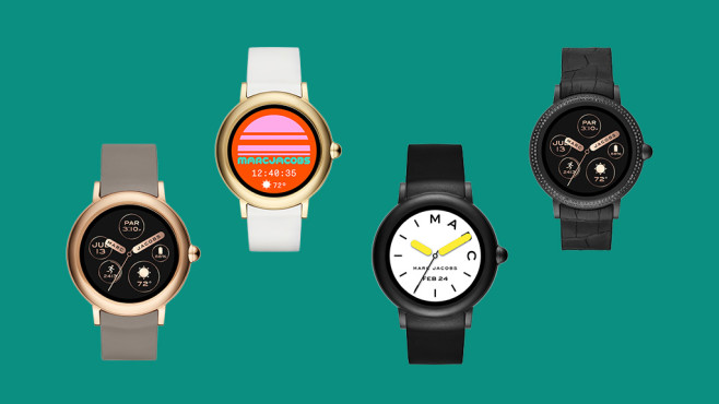 Marc Jabobs Riley Smartwatches © Marc Jacobs, Montage: COMPUTER BILD