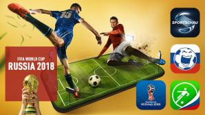 Die besten Fußball-Apps zur WM 2018 ©iStock.com/anton5146, iStock.com/jcamilobernal