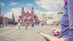 Smartphone-Nutzung in Russland © iStock.com/Ababsolutum