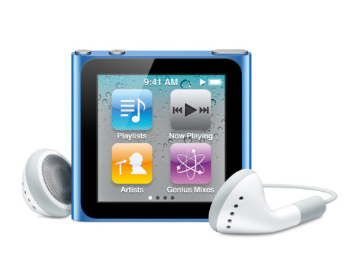 iPod nano 6 © Apple