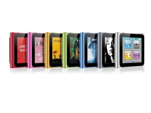 iPod nano 6 ©Apple