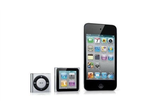 iPods 2010 © Apple
