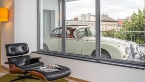 Auto auf dem Balkon ©b'mine hotels GmbH