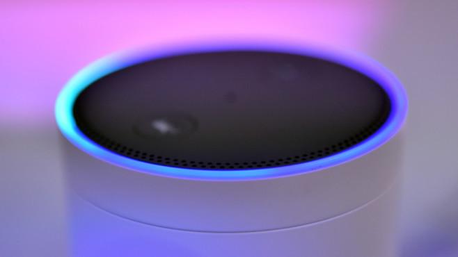 Amazon Echo ©dpa-Bildfunk