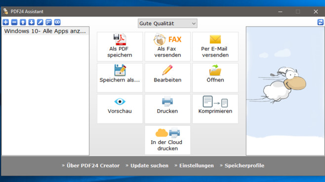 PDF24 Creator: PDF-Dateien erstellen und komprimieren©COMPUTER BILD