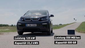 SSD vs. BMWi3 ©CB