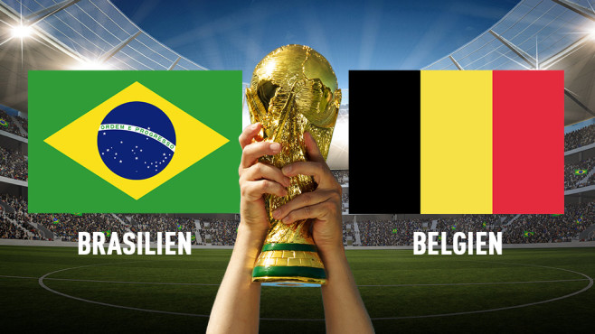 Brasilien Belgien Wm