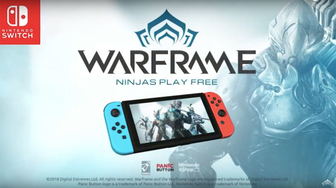 Warframe: Switch-Version © Digital Extremes