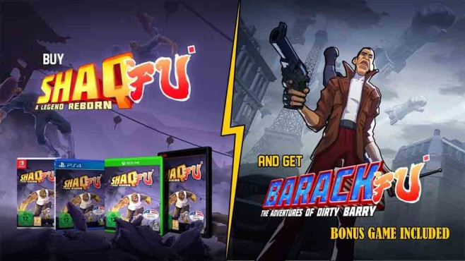 Shaq Fu – A Legend Reborn © Wired Productions