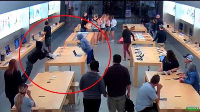 Apple Store Raubüberfall ©BFG