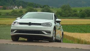 Autonomer VW Golf ©Kopernikus Automotive