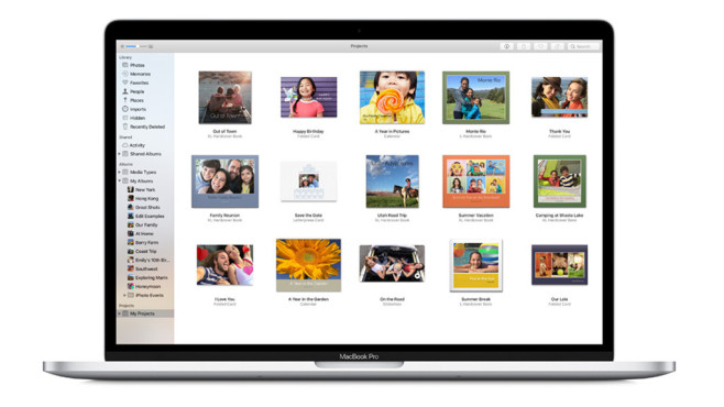 Apple Fotoservice ©Apple