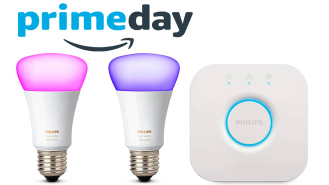 amazon philips hue zum sonderpreis computer bild. Black Bedroom Furniture Sets. Home Design Ideas