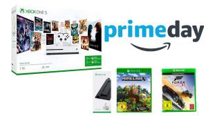 Xbox One S im Bundle ©Amazon, Microsoft, Mojang