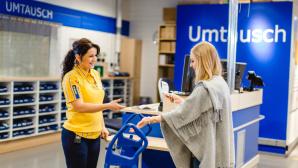 IKEA: Szene Umtausch ©IKEA Deutschland/André Grohe