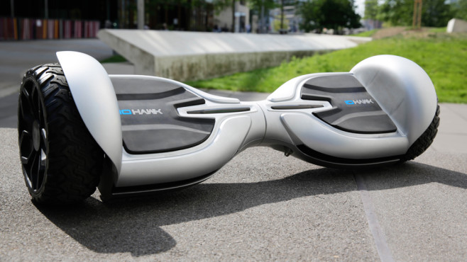 IO Hawk Two Rugged LED: Hoverboard im Test - COMPUTER BILD