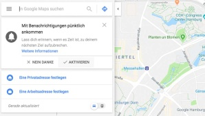 Screenshot von Google Maps © Google Maps