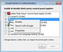 Screenshot 2 - visualControls